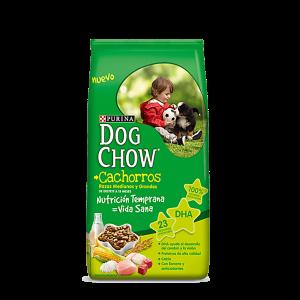 DOG CHOW CACHORROS x 1.5, 3, 8, 15 y 21 kg