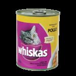 Whiskas Lata  Adulto Pollo x 340 Gs