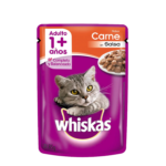 Whiskas Pouch Adulto Carne x 85 Gs