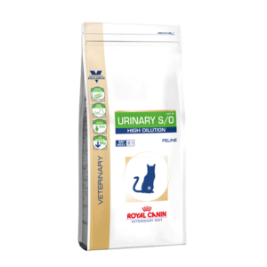 ROYAL CANIN Urinary S/O High Dilution x 0,4 – 1,5 y 7,5 kg