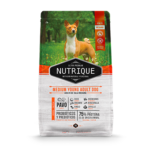 Nutrique Medium Young Adult Dog x 350gr, 3 y 12kg