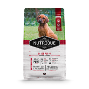 Nutrique Large Puppy x 1 y 15kg