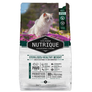 Nutrique Young Adult Cat Sterilised Healthy Weight x 350gr