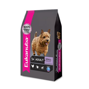 Eukanuba Adult Small Breed x 1, 3 y 15 kg