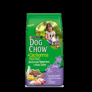 DOG CHOW CACHORROS RAZAS PEQUEÑAS x 8 y 21 kg