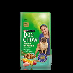 DOG CHOW SANO Y EN FORMA x 1,5, 3, 8 y 21 kg