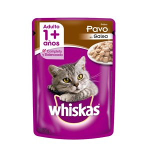 Whiskas Pouch Adulto Pavo x 85 Gs