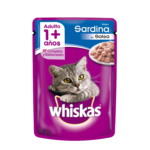 Whiskas Pouch Adulto Sardina x 85 Gs