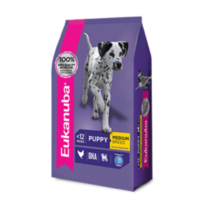 Eukanuba Puppy Medium Breed x 3 y 15 kg