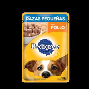 Pedigree Pouch Adulto Raza Pequeña  Pollo x 100 G