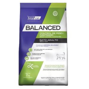 Balanced Gato Control Peso Castrado x 0.4  2 y 7,5 kg