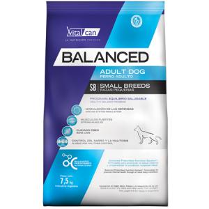 Balanced Perro Adulto Raza Pequeña x 3 y 7,5 kg