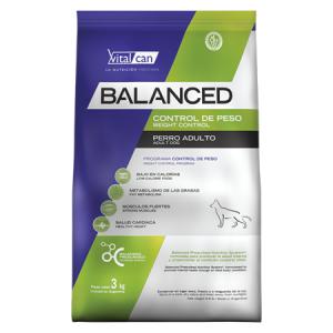 Balanced Perro Control Peso Allages x 3, 12 y 20 kg