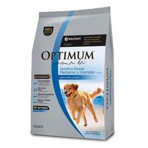 OPTIMUM Adulto Raza Mediana y Grande x 3 y 15 kg