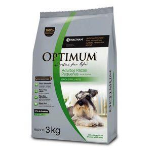 OPTIMUM Adulto Raza Pequeña x 3 y 15 kg